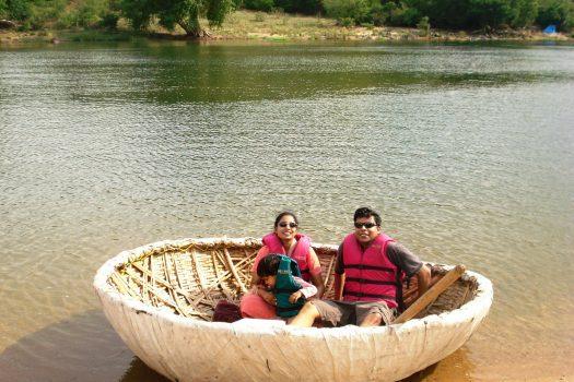 Boating in Bheemeshwari