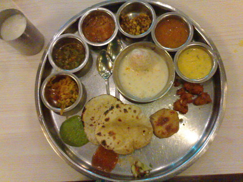 Thali meal