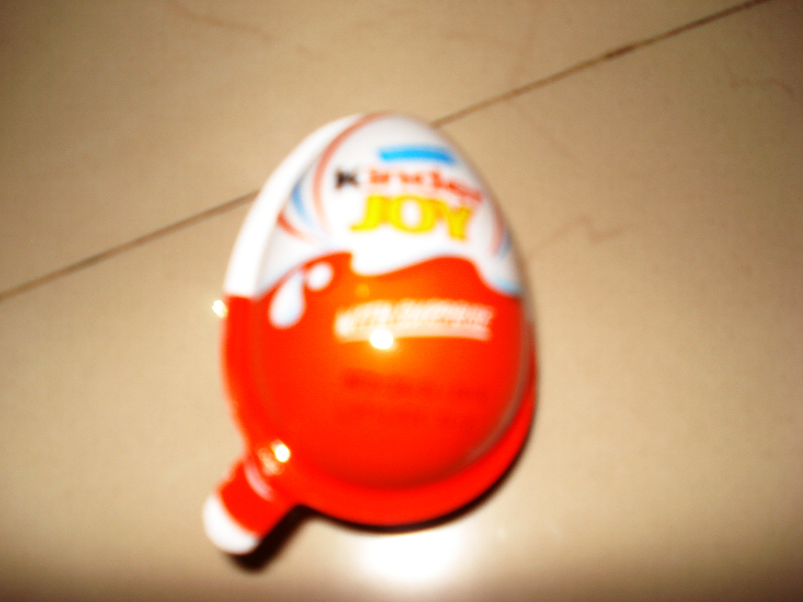 The Kinder Joy Egg