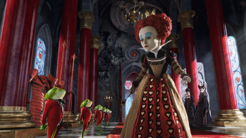The Red Queen in her Court