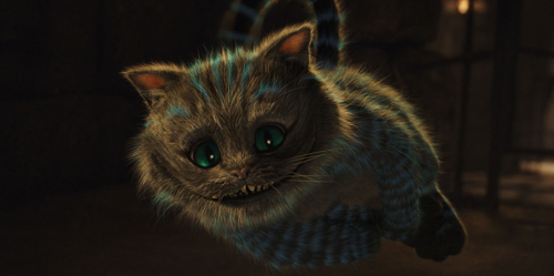 The Wonderful Grinning Cheshire Cat