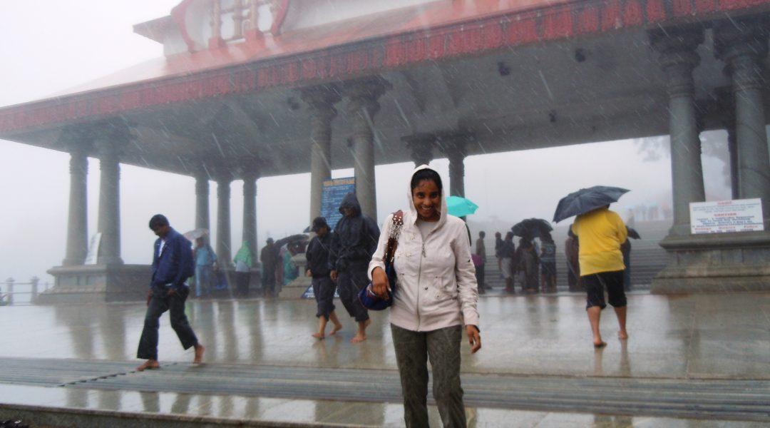 Pouring Rain at Talacauvery