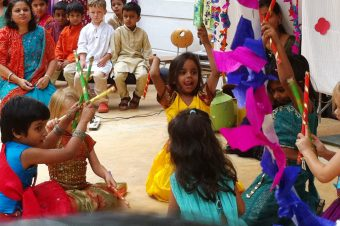 Dussehra Celebrations at the Snubnose's School