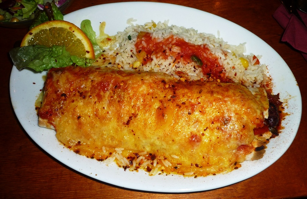 Chimichanga (image taken from the web as I forgot to take a photo)