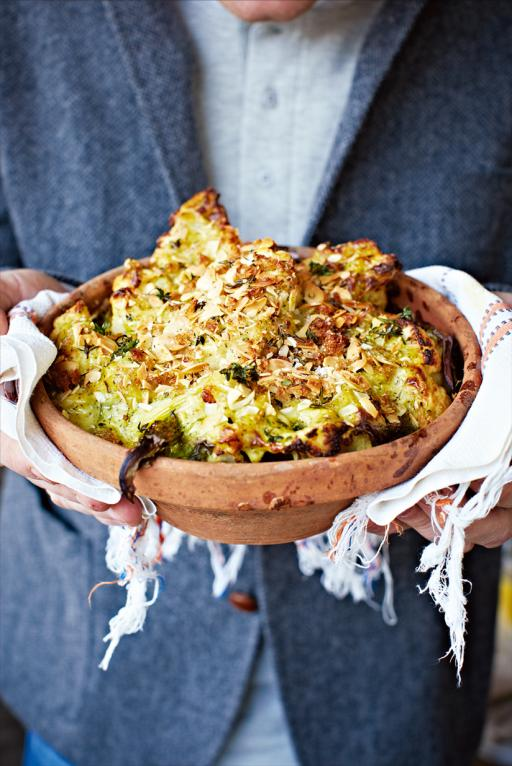 Cauliflower and Broccoli with Cheese