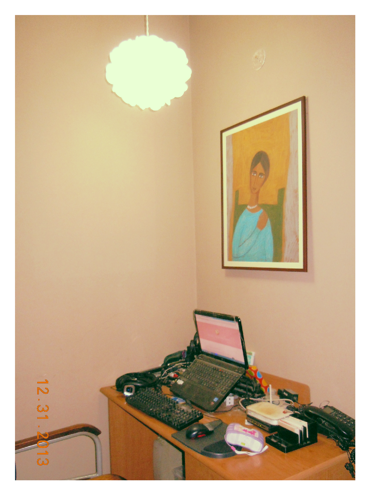 My blogging nook