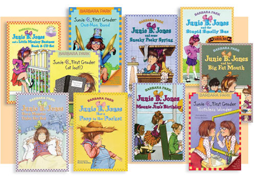 A selection of Junie B. Jones books
