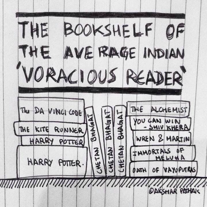 Indian Bookshelves