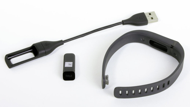 The Fitbit Flex and its accessories