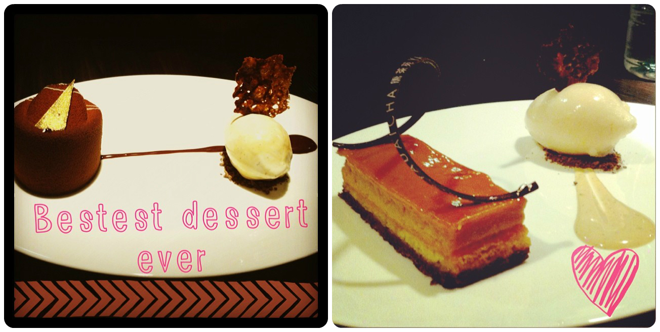 Awesome desserts at Yauatcha