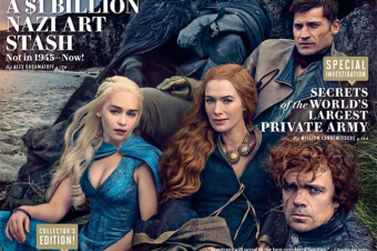 A Game of Thrones on Vanity Fair