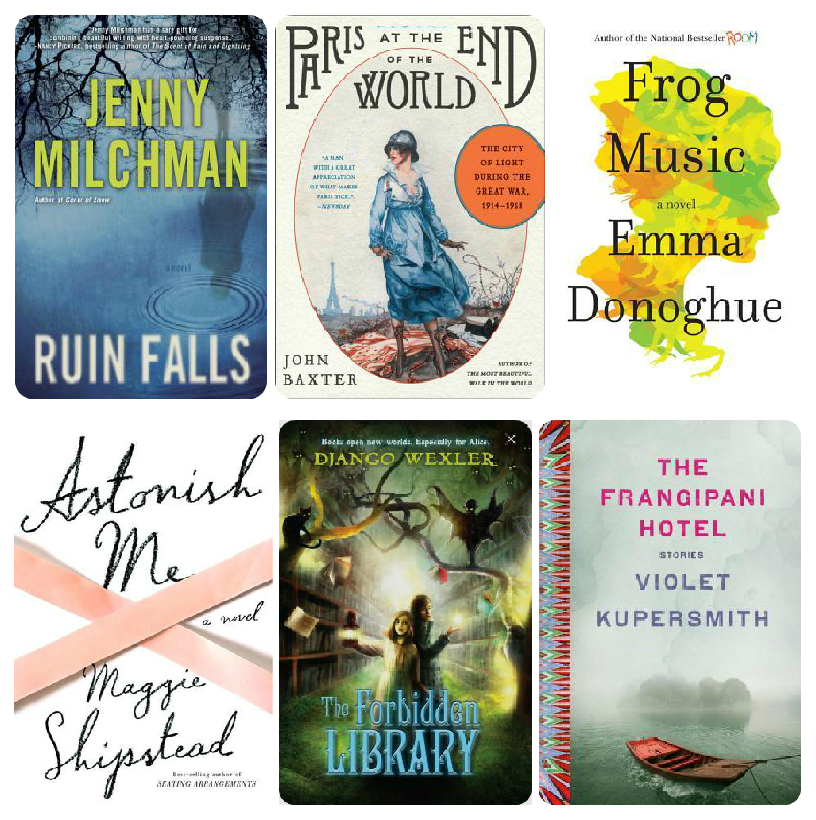 Hot new books in April