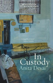 In Custody – A Book Review and a Late Giveaw