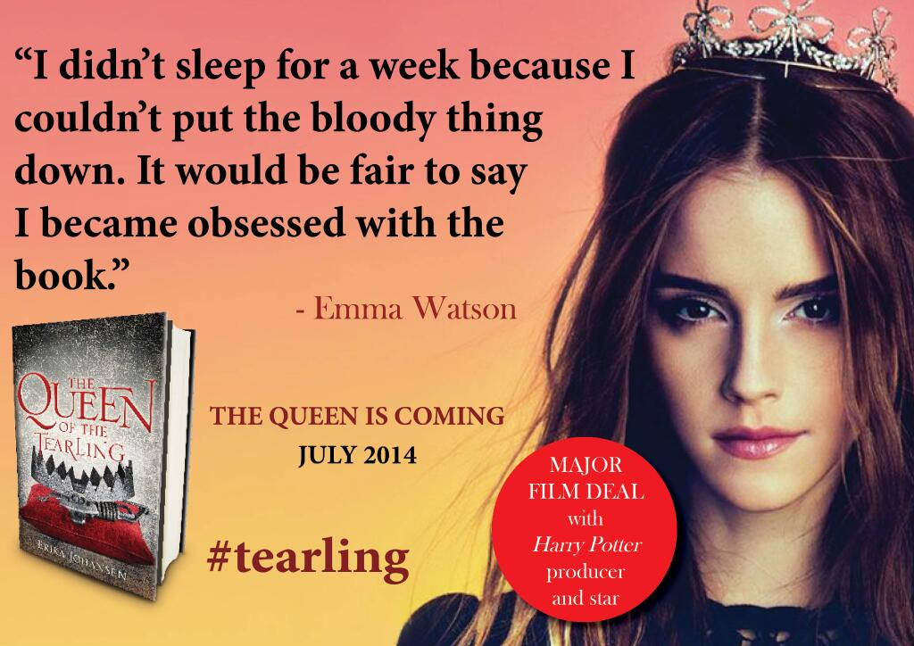 Emma Watson is the Queen of the Tearling