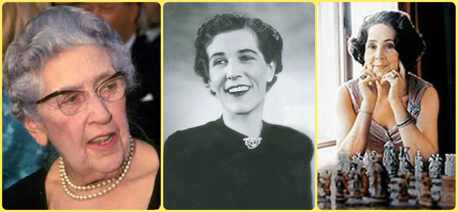 Agatha Christie, Georgette Heyer, and Jean Plaidy