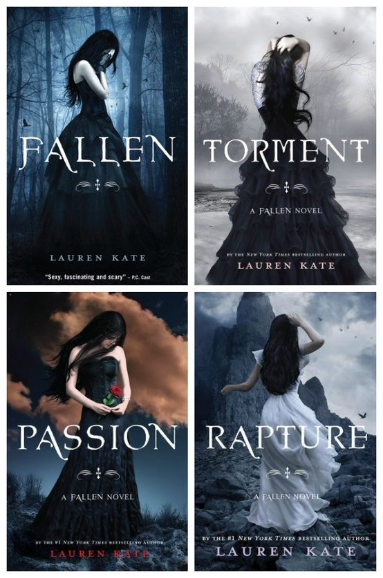 The Fallen Series by Lauren Kate are a no-no for me