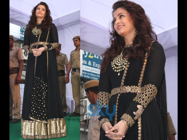 Aishwarya in her anarkali