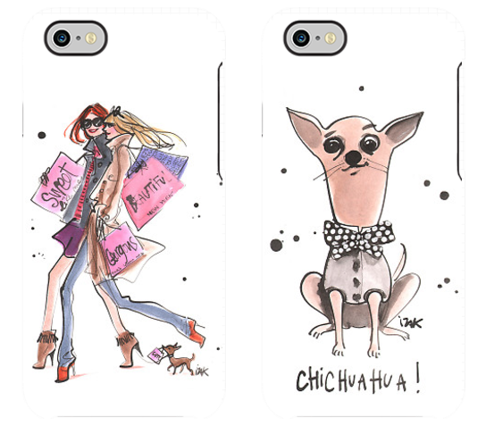 Fun designs for the fashion girl / dog lover
