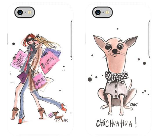 Fun designs for the fashion girl / dog lover