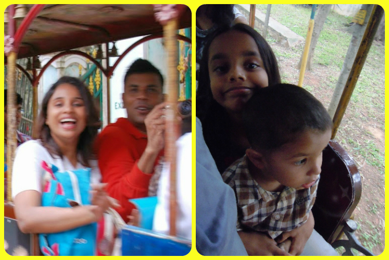 Yup. You can see that we really enjoyed the toy train ride