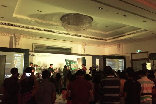 Going Sleek with ASUS at The Indiblogger Meet