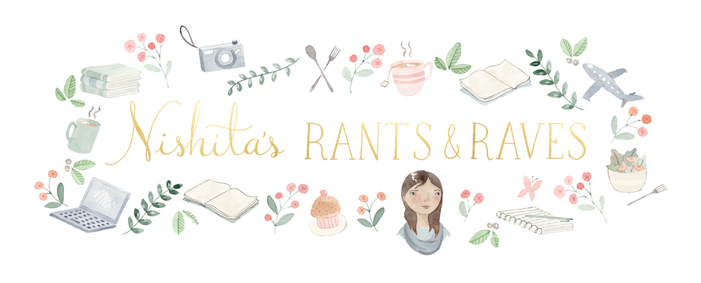Nishita's Rants and Raves - About books, movies, music, and everything else under the sun