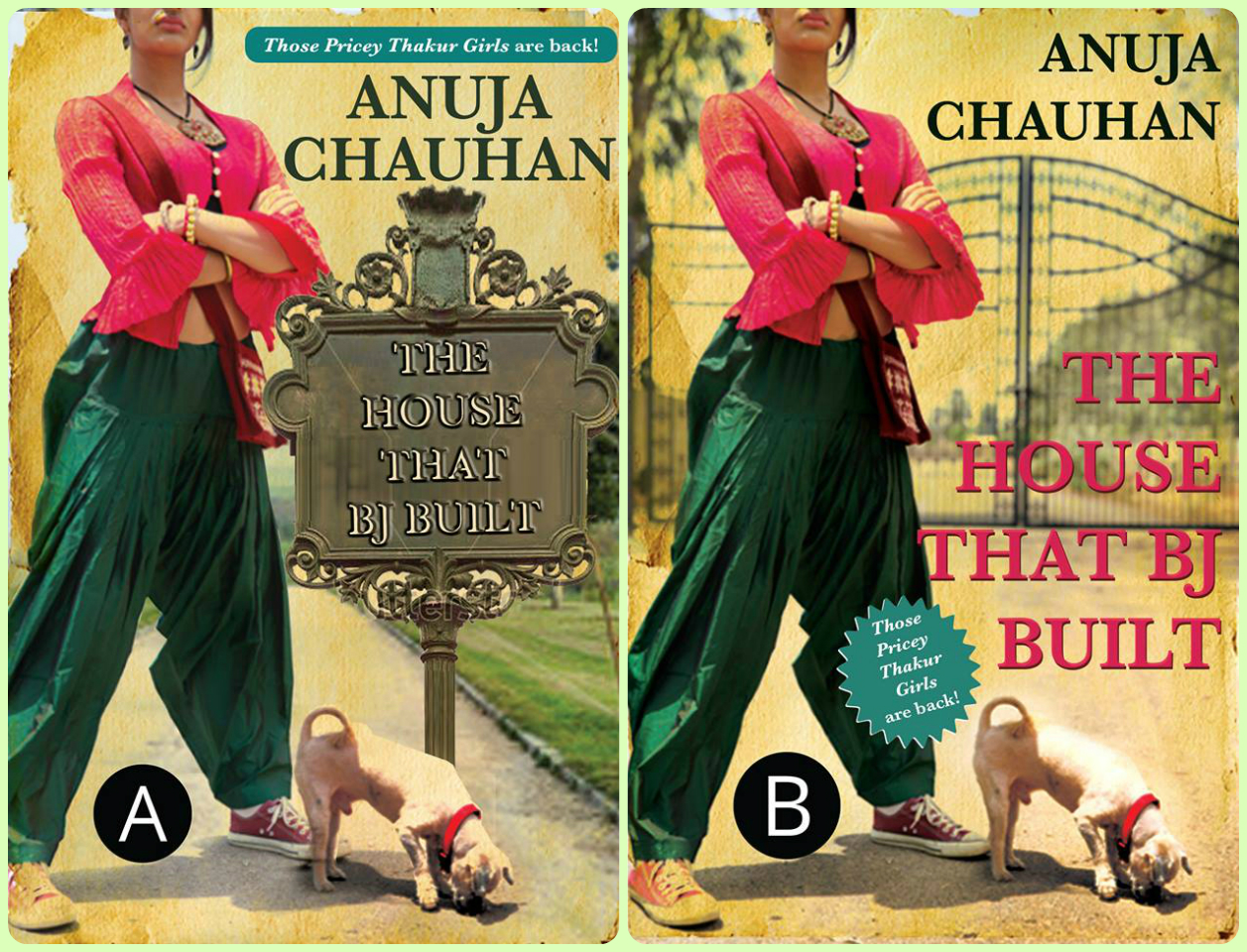 Which cover do you like?