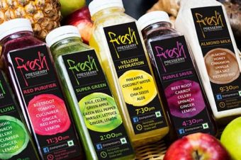 Juicing with Fresh Pressery