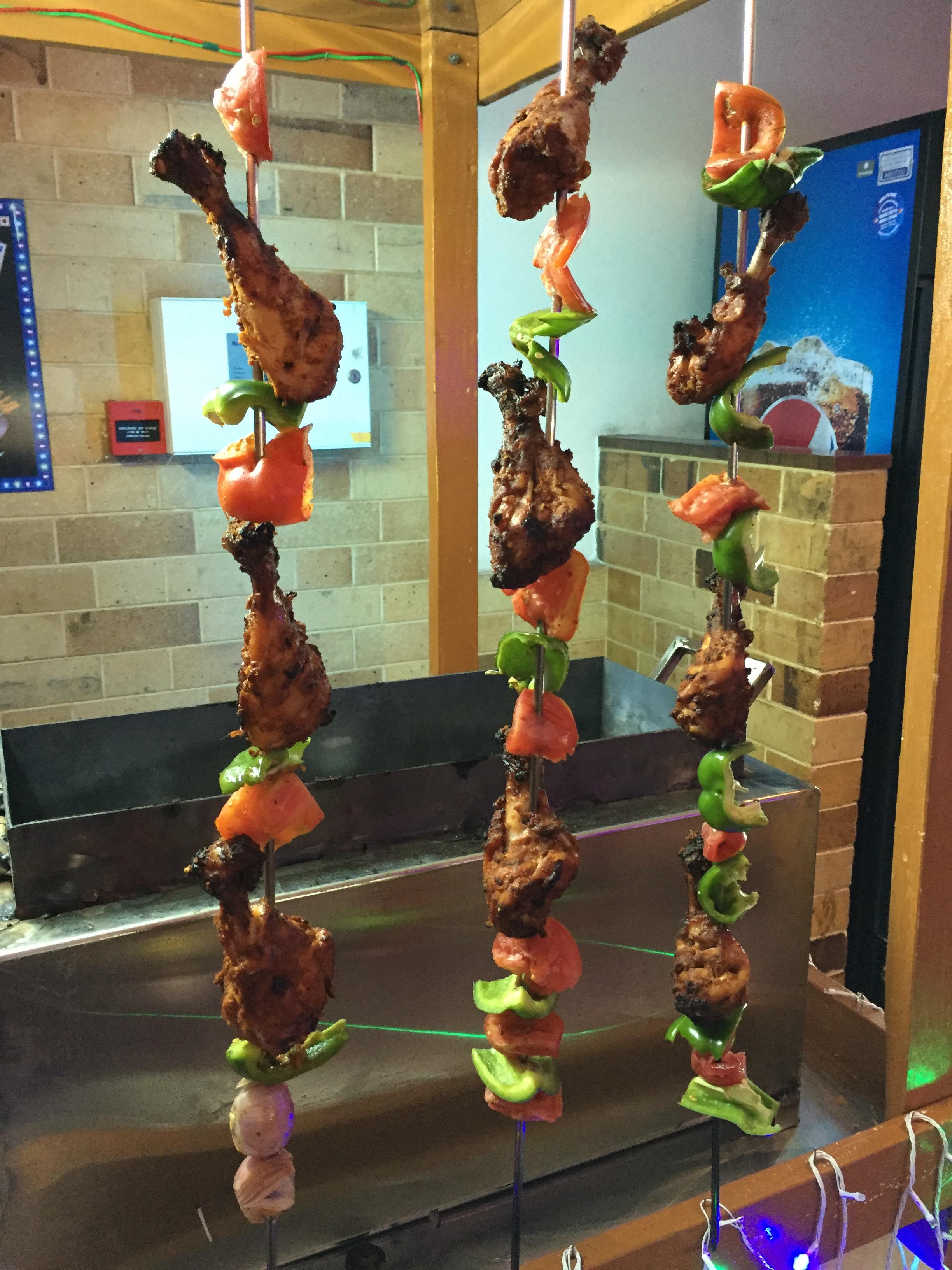 The non-veg stall