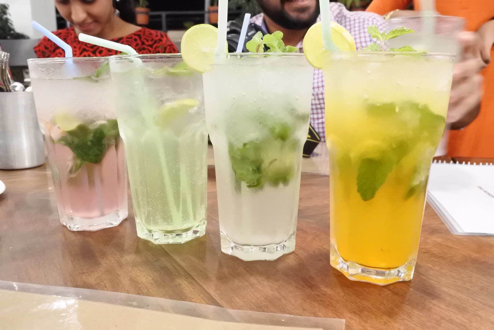 Our non-alcoholic drinks