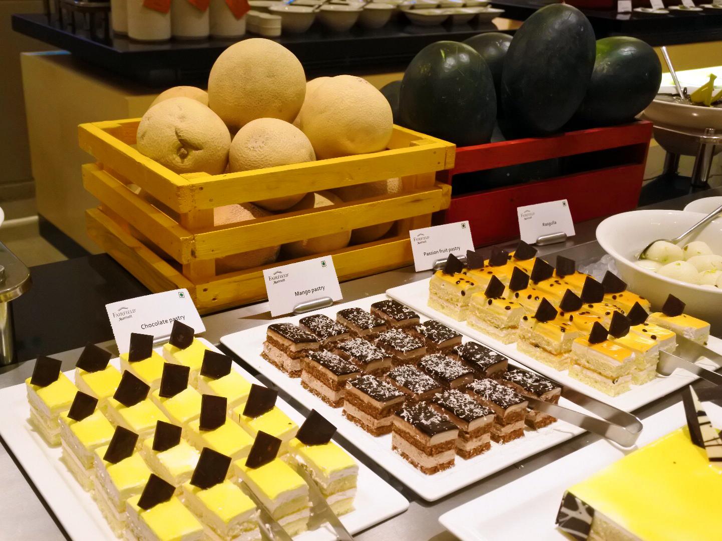 Fabulous dessert counter