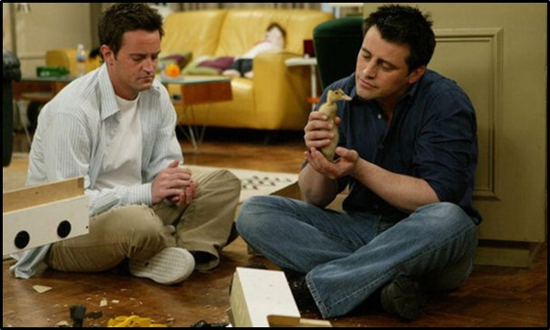 Love Joey and Chandler