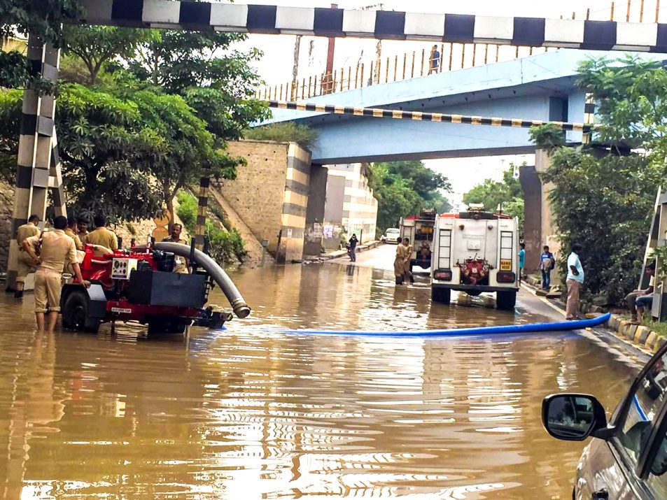 Mega floods caused because of poor drainage