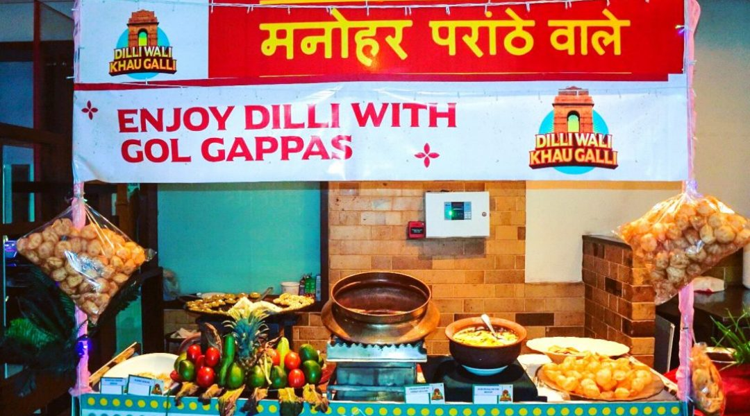 Delhi galli atmosphere