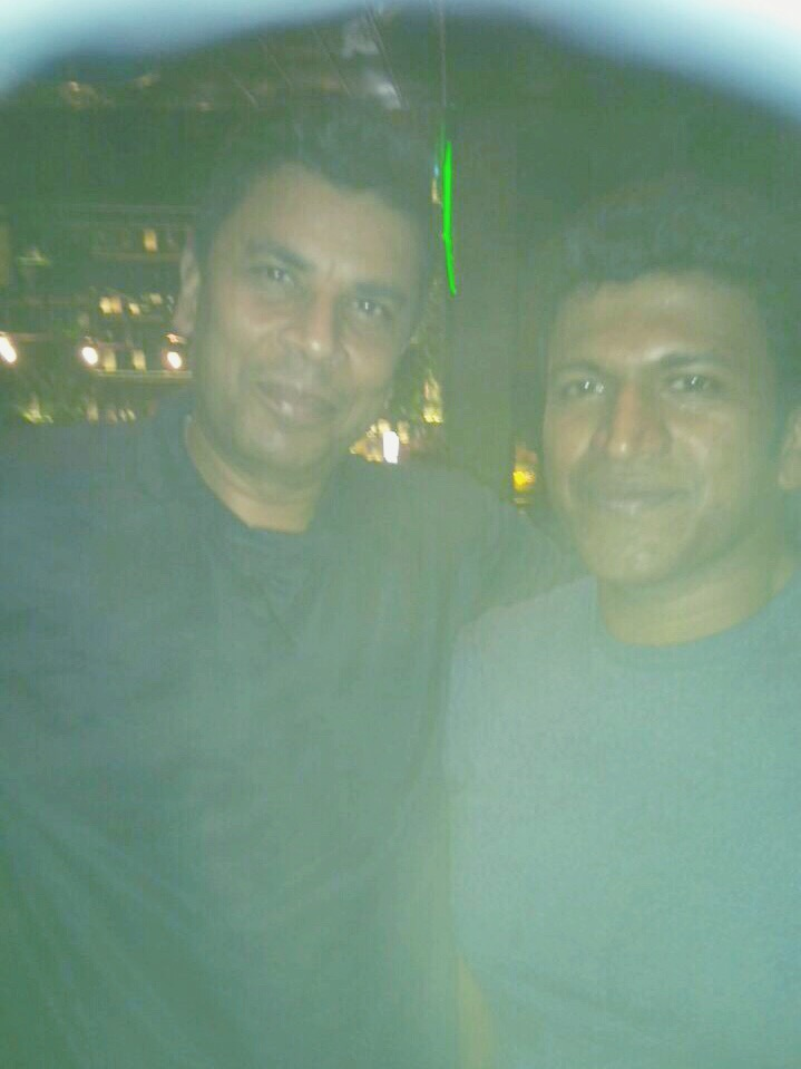 With Puneeth Rajkumar