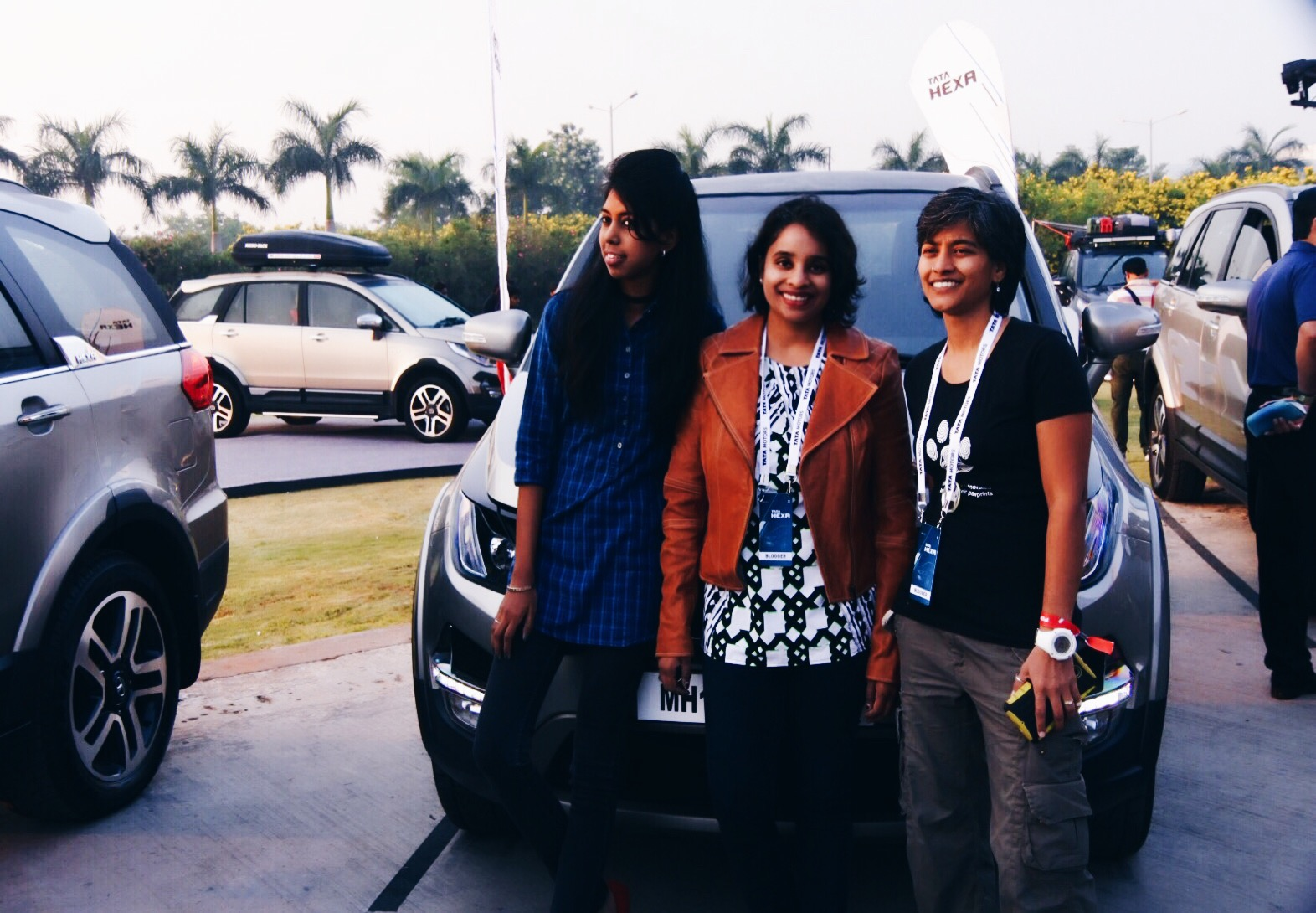 All set for the 170 km drive along Hyderabad's highways