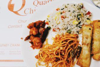 Three Quarter Chinese