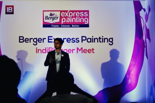 Hassle-free painting with Berger paints