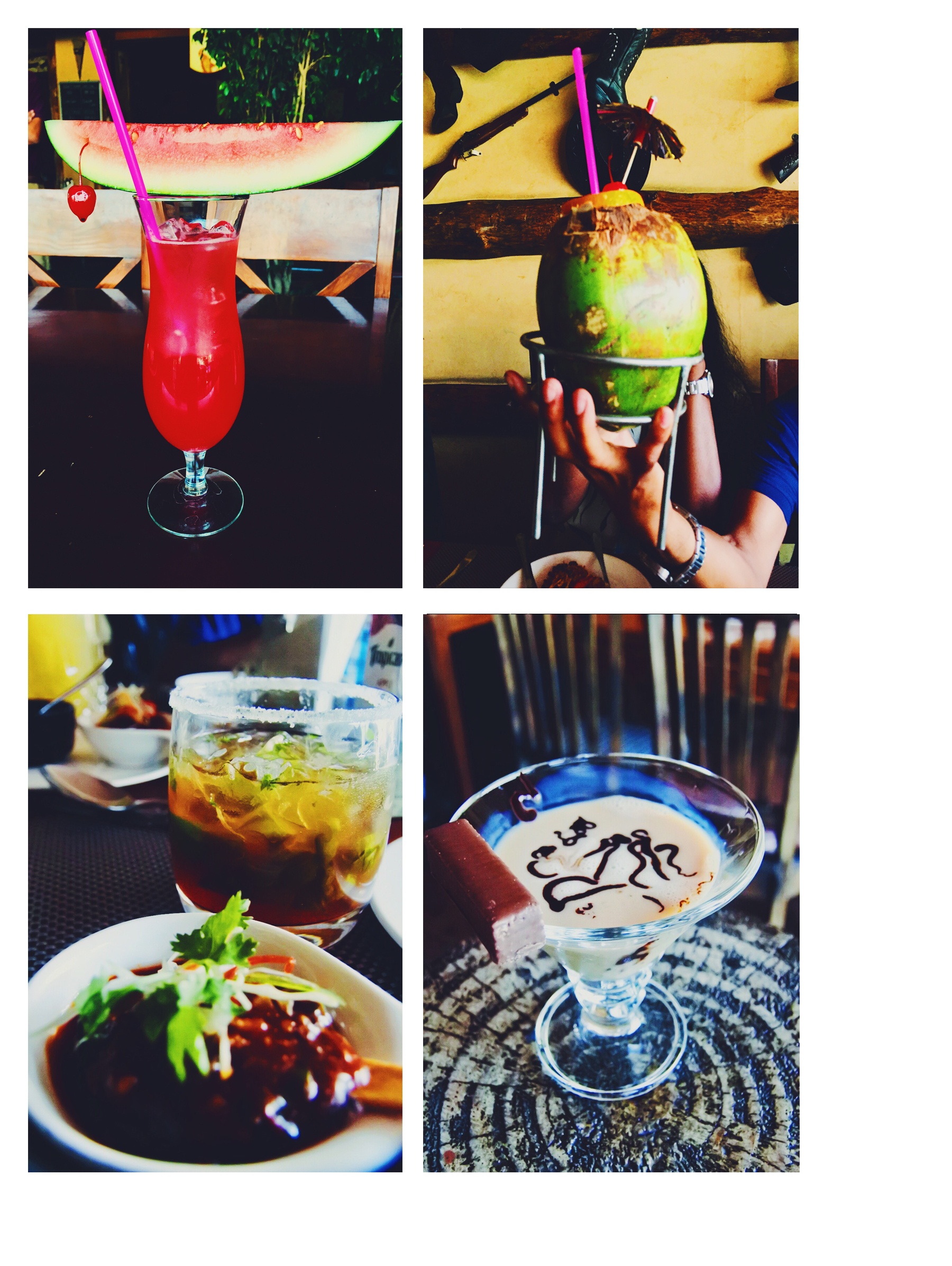 The amazing drinks we tried