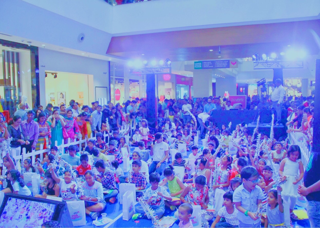 Enthusiastic kids at the event