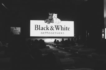 A #BlackandWhite movie-watching experience