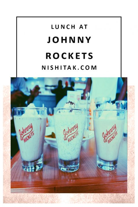 Lunch at Johnny Rockets