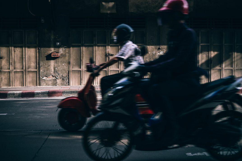 Motorbiking in Thailand