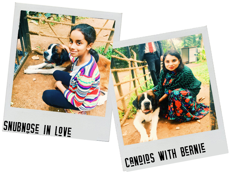 Lovely moments with Bernie