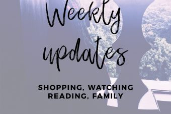 Life Lately: Shopping Reading, Watching