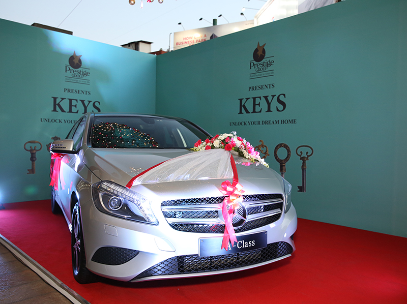 The Mercedes lucky dip prize last year