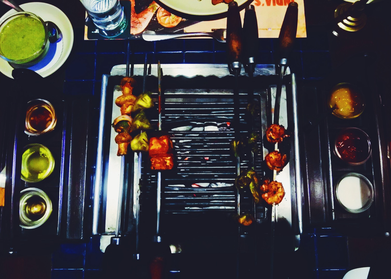 Table-top grilling