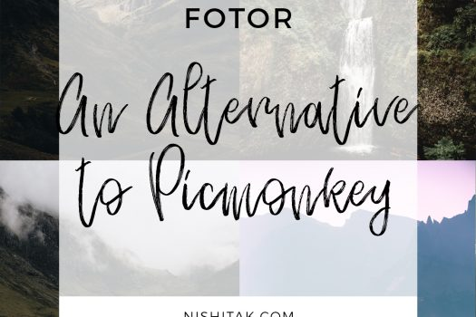 Fotor – an alternative to Picmonkey