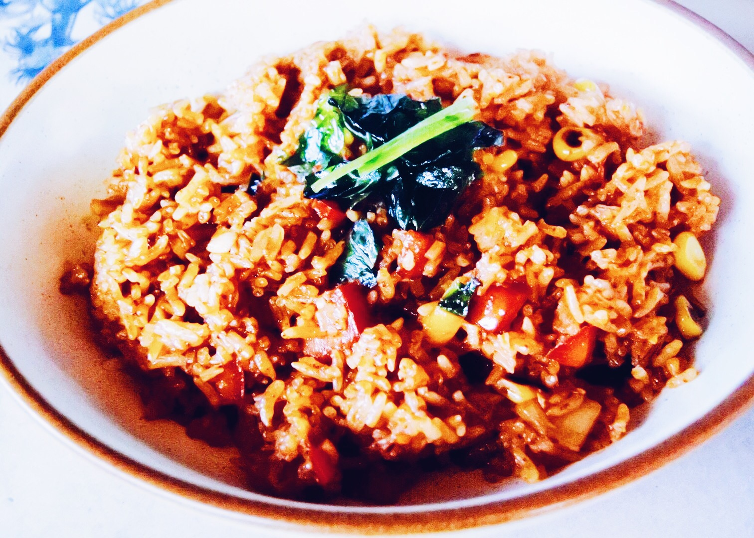 The Thai wok fried rice