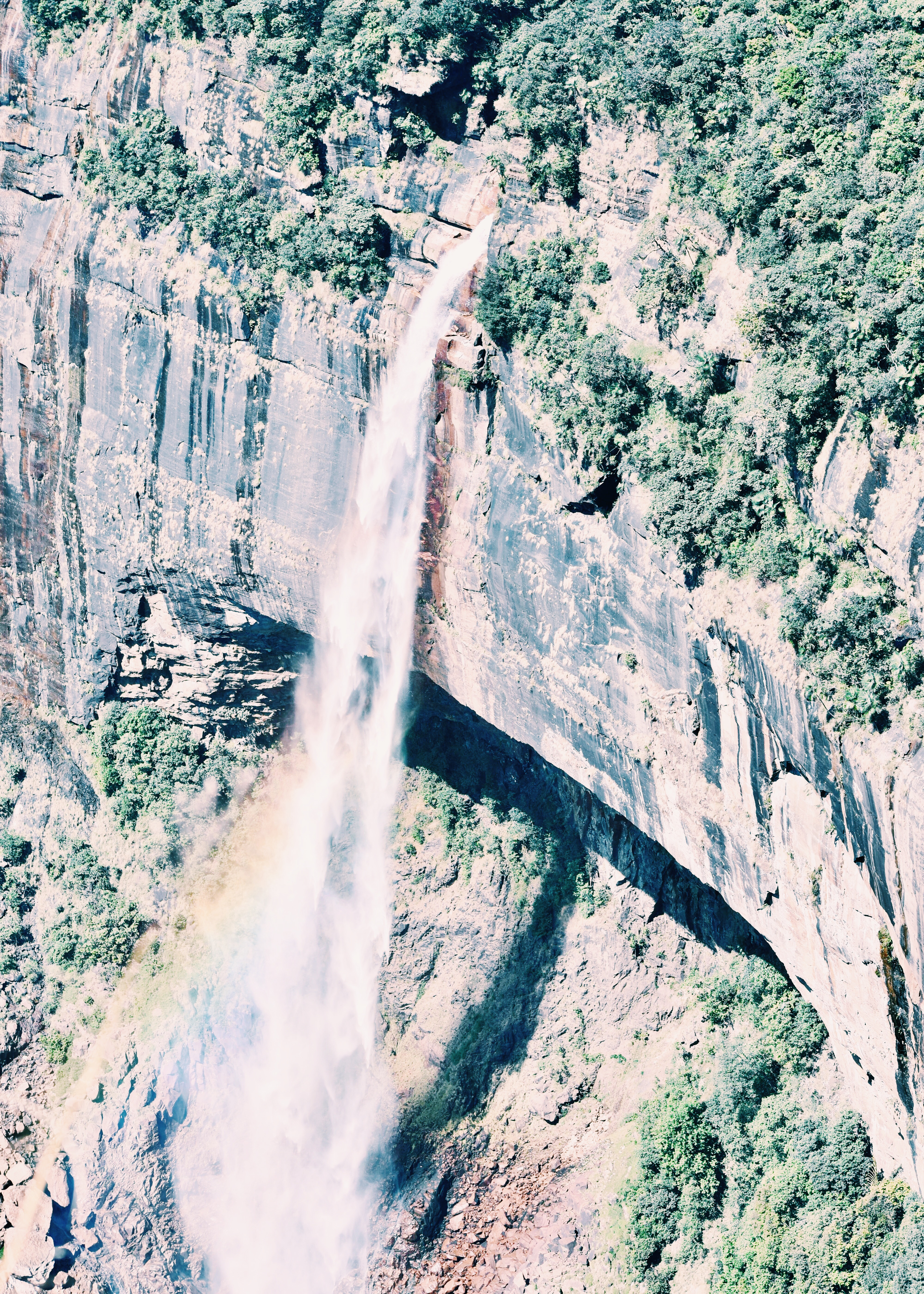 Noikholikai Falls